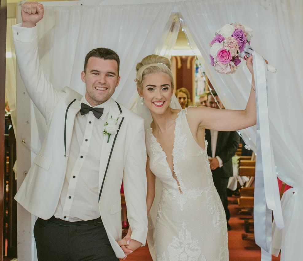 Harvey's Point wedding
